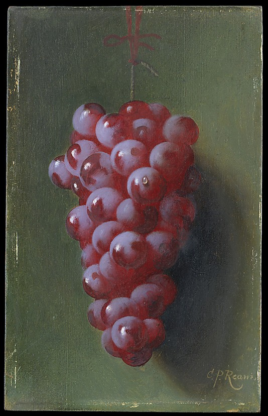 Fruit Paintings Still Life with Grapes