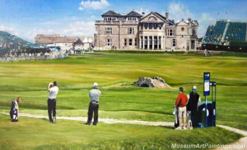 Golf Landscape Oil Painting GP01
