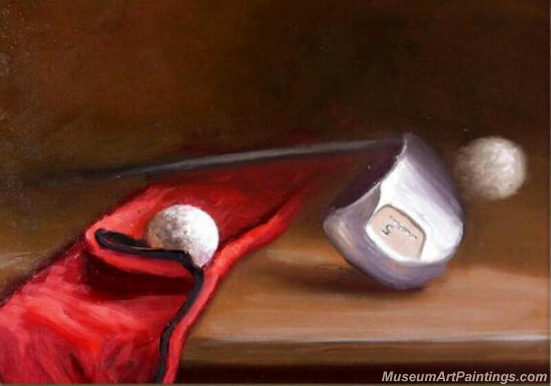 Golf Oil Paintings GOP02