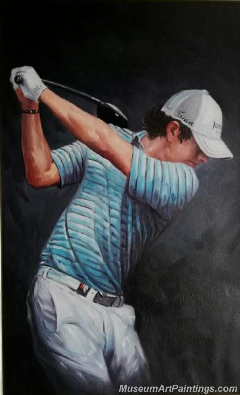 Golf Paintings GOP041