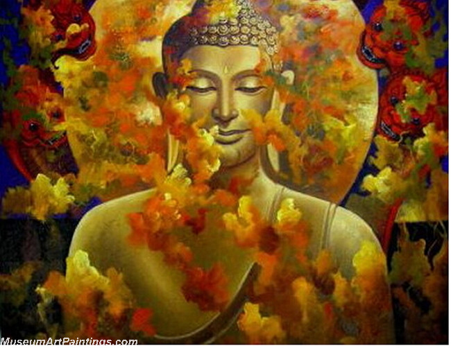 Handmade Buddha Paintings 006