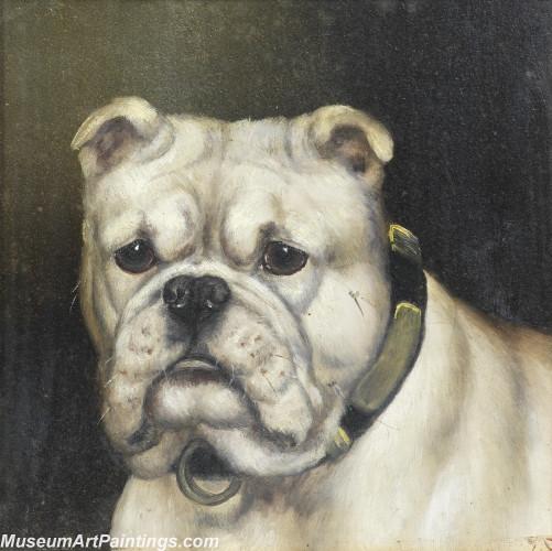Handmade Dog Portrait Oil Paintings MA027