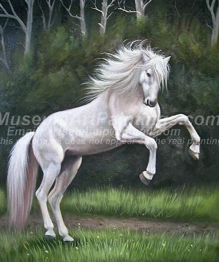Horse Oil Paintings 012