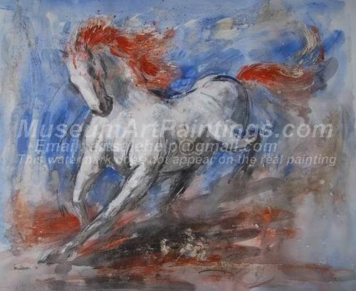 Horse Oil Paintings 021