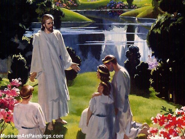 Jesus Christ Oil Paintings 089
