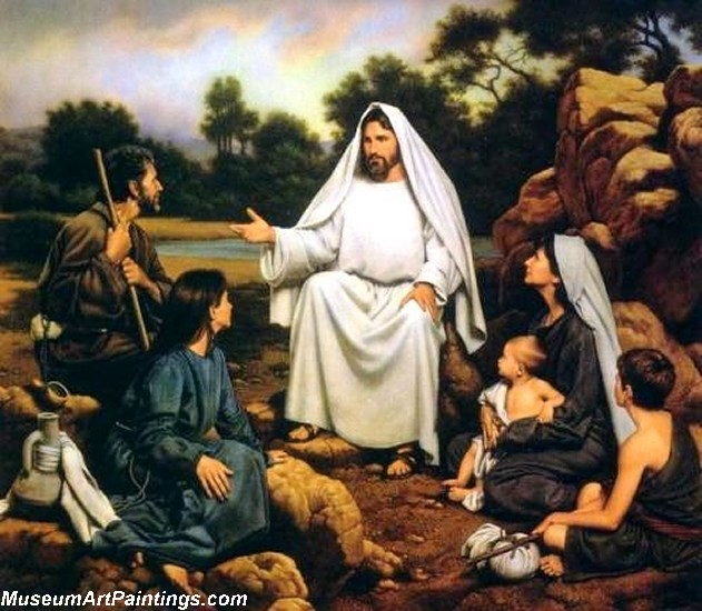 Jesus Christ Oil Paintings 095