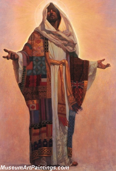 Jesus Christ Oil Paintings 099