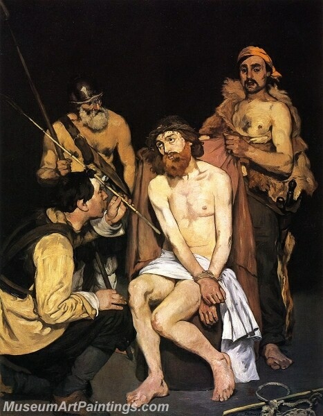 Jesus Mocked by the Soldiers Painting