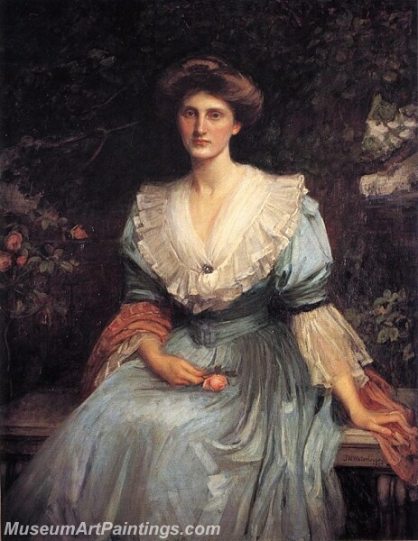 Lady Violet Henderson Painting