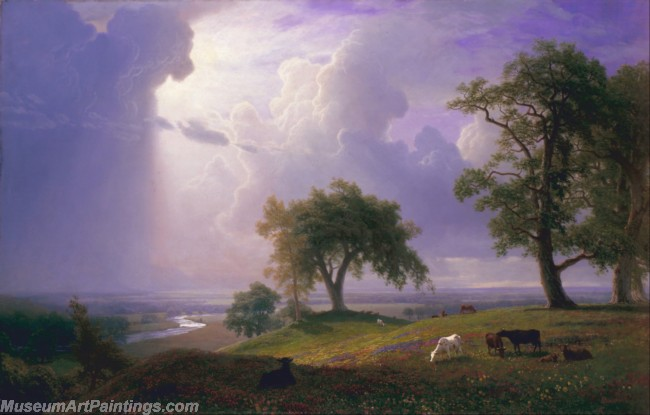 Landscape Paintings Albert Bierstadt California Spring
