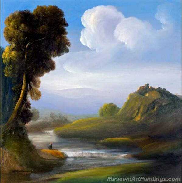 Landscape Paintings by Ubaldo Bartolini LPUB01