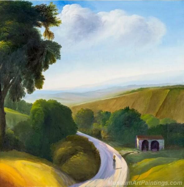 Landscape Paintings by Ubaldo Bartolini LPUB06