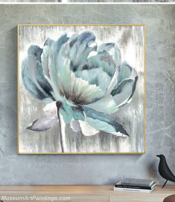 Living Room Paintings for Sale Abstract Flower Painting B529