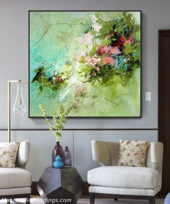 Living Room Paintings for Sale Abstract Painting B010