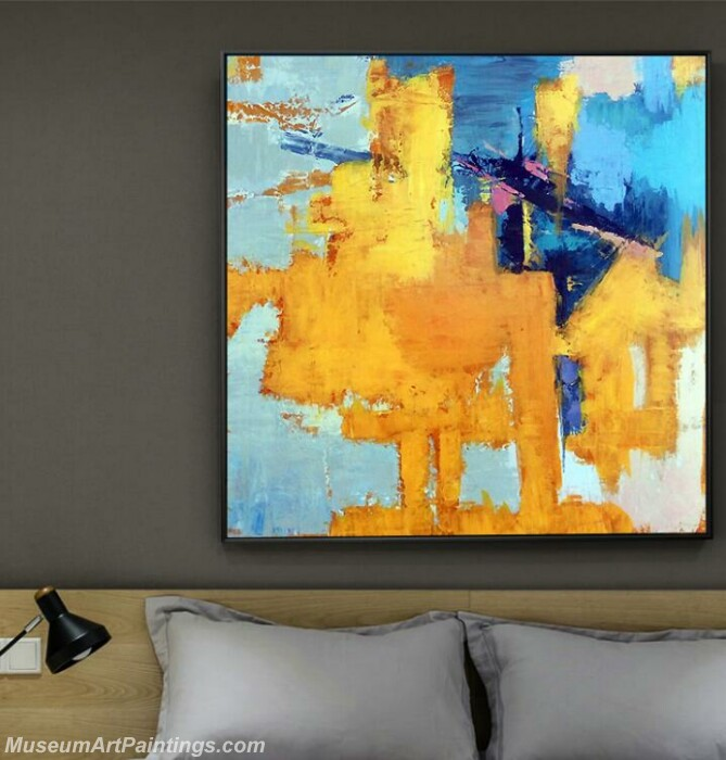 Living Room Paintings for Sale Abstract Painting B08