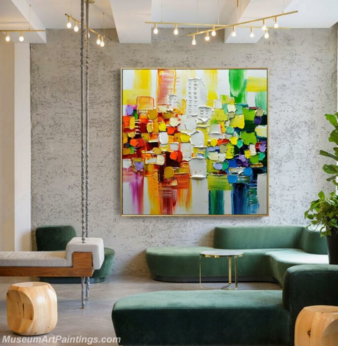 Living Room Paintings for Sale Abstract Painting B09