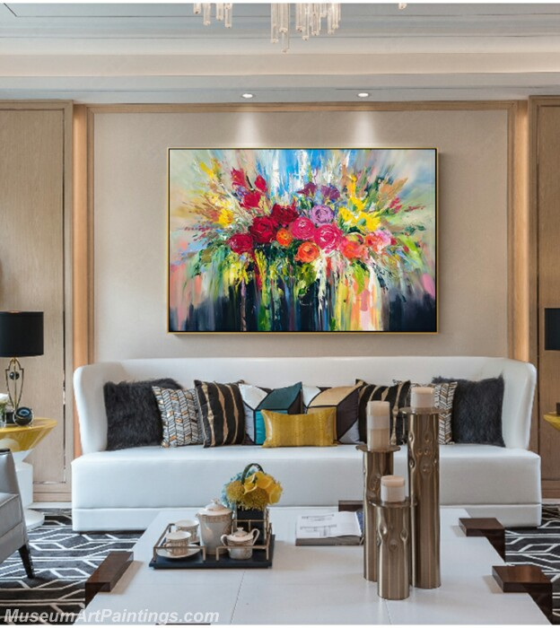Living Room Paintings for Sale Abstract Painting B51