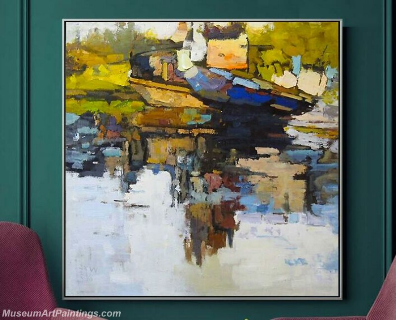 Living Room Paintings for Sale Abstract Painting B516