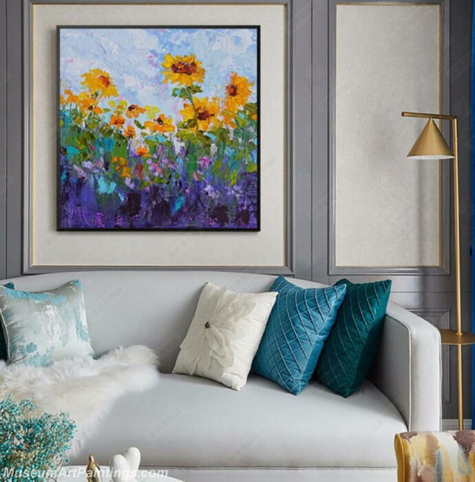Living Room Paintings for Sale Abstract Painting B52
