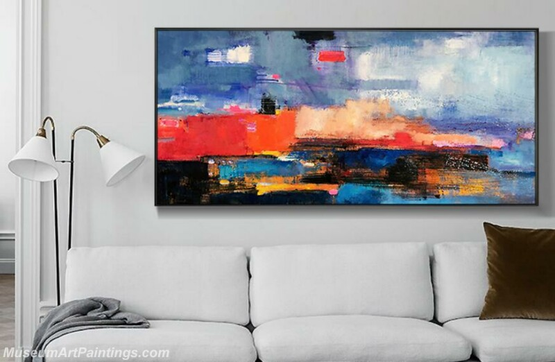 Living Room Paintings for Sale Abstract Painting B521