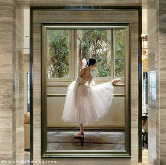 Living Room Paintings for Sale Ballet Paintings 01
