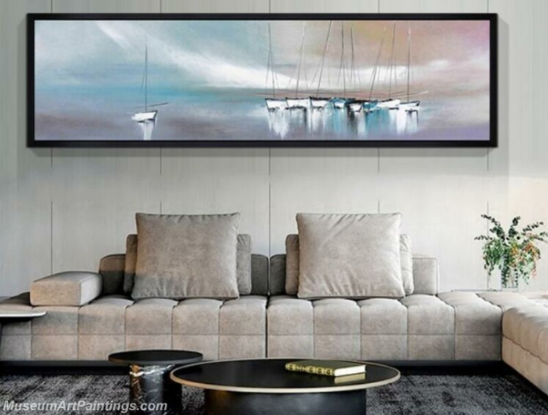 Living Room Paintings for Sale Boat Painting