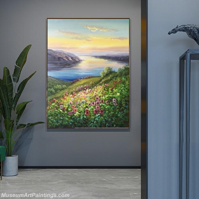Living Room Paintings for Sale Flowers Landscape Paintings