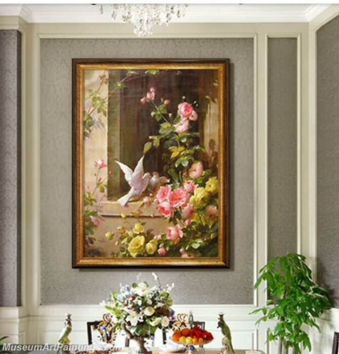 Living Room Paintings for Sale Happy Couple Birds Painting