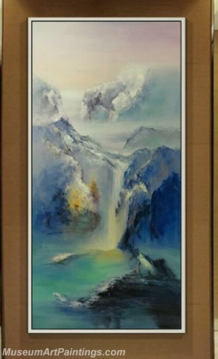 Living Room Paintings for Sale High mountains and rivers Landscape Painting