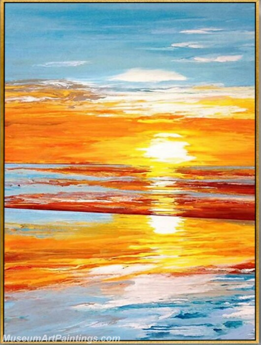 Living Room Paintings for Sale Sunrise Landscape Painting 04