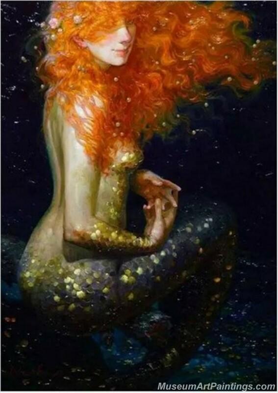 Mermaid Paintings 0025