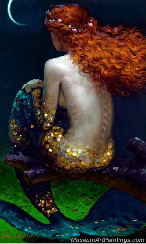 Mermaid Paintings 007