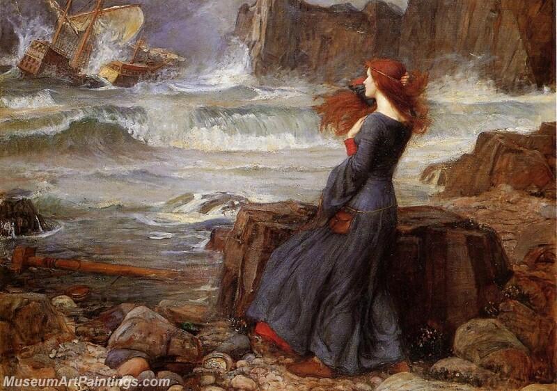 Miranda the Tempest Painting