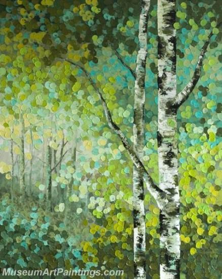 Modern Abstract Art Paintings Landscape Tree MDA02