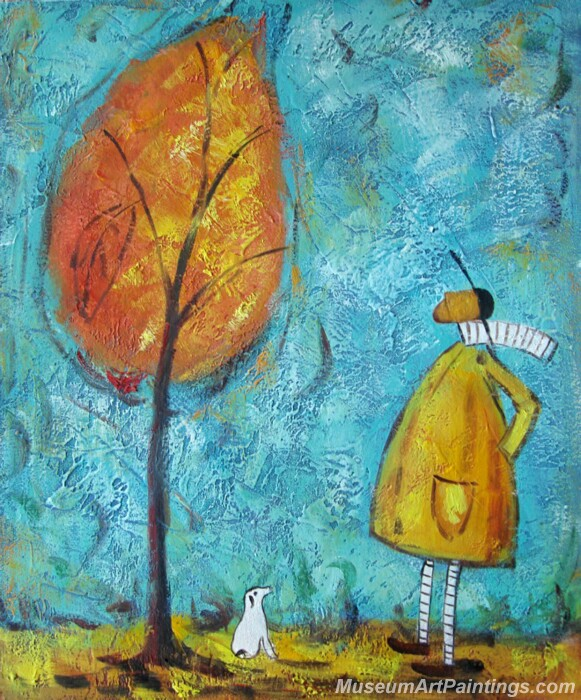 Modern Abstract Paintings for Sale FAMS489