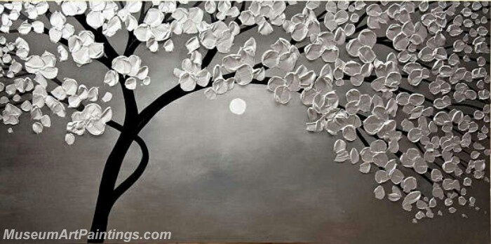 Modern Abstract Wall Art Painting Abstract Flower Tree Landscape Paintings MFL036