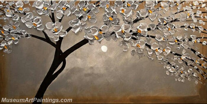 Modern Abstract Wall Art Painting Abstract Flower Tree Landscape Paintings MFL039