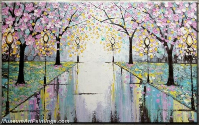 Modern Abstract Wall Art Painting Abstract Flower Tree Landscape Paintings MFL059
