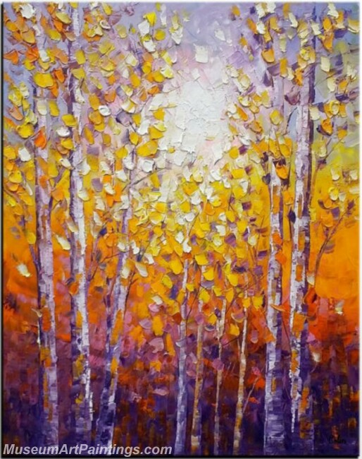 Modern Abstract Wall Art Painting Abstract Tree Landscape Paintings MTL065