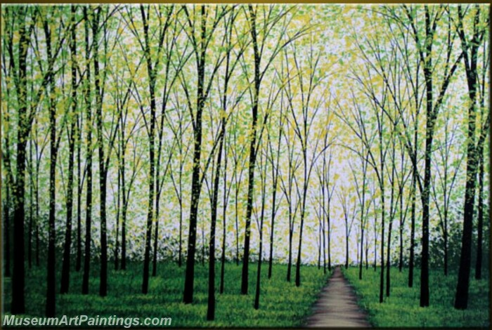 Modern Abstract Wall Art Painting Abstract Tree Landscape Paintings MTL069