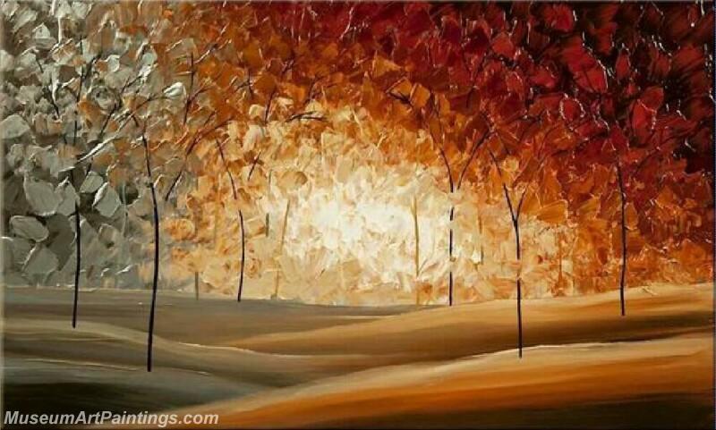 Modern Landscape Tree Painting 02