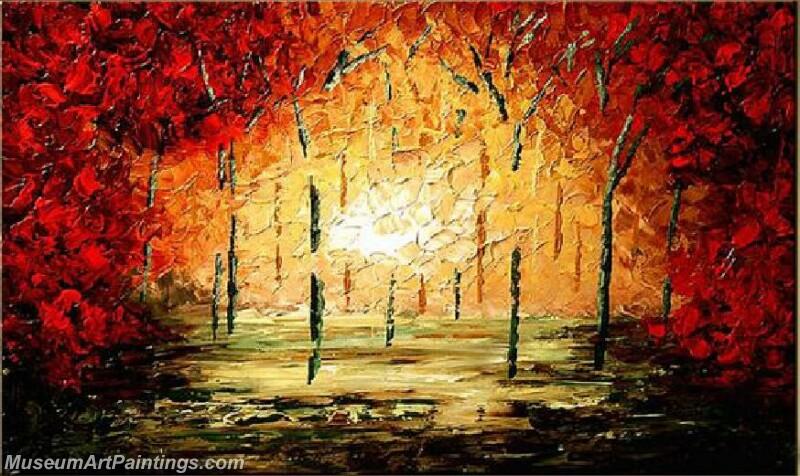 Modern Landscape Tree Painting 05