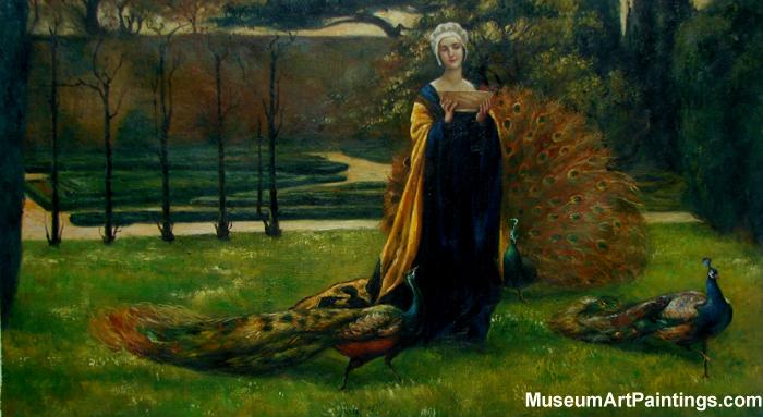 My ladys Garden Painting John Young Hunter 1899