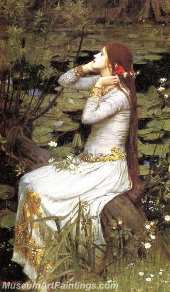 Ophelia 1 Painting