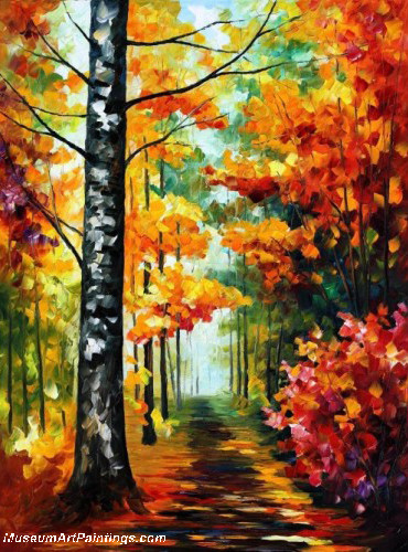 Palette Knife Oil Painting 070