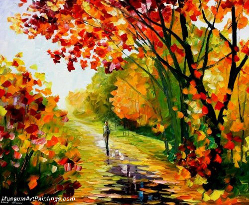 Palette Knife Oil Painting 072