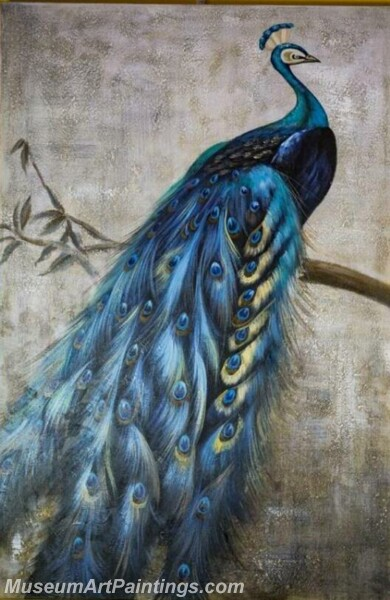 Peacock Oil Paintings PMP018