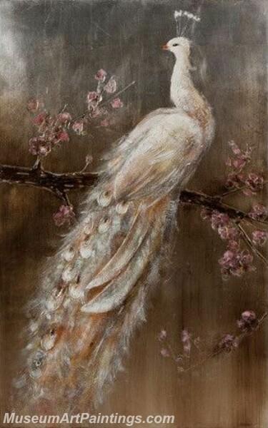 Peacock Oil Paintings PMP023