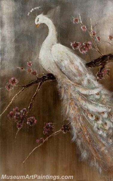 Peacock Oil Paintings PMP027