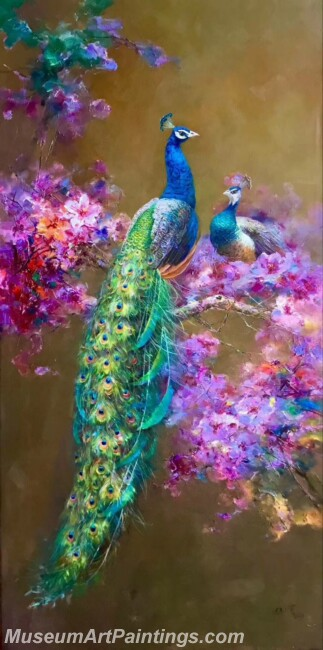 Peacock Paintings DMP03